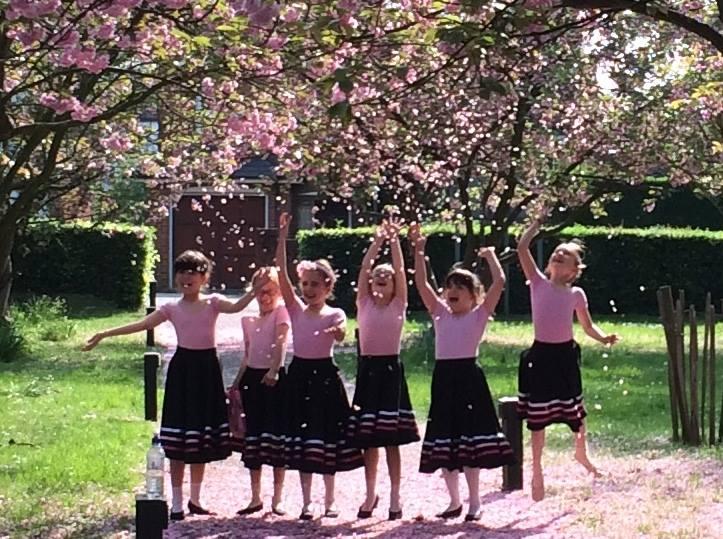 Blossom Ballerinas